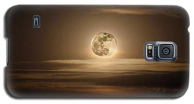 Super Moon Of 2012 Galaxy S5 Case