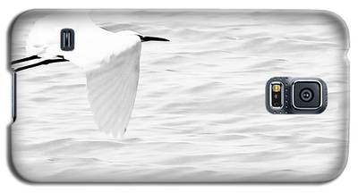 Whispering White Galaxy S5 Case
