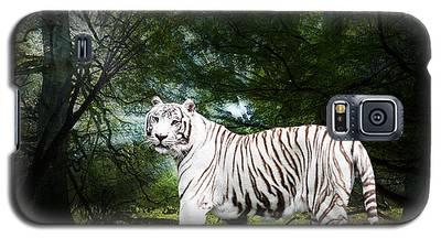 White Bengal Galaxy S5 Case