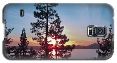 Winter Sunset  Galaxy S5 Case