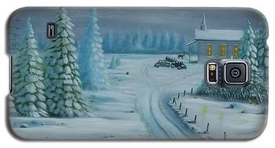 Winter Worship  Galaxy S5 Case