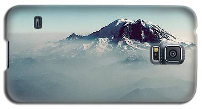 An Aerial View Of Mount Rainier Galaxy S5 Case