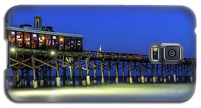 Cocoa Beach Pier At Twilight Galaxy S5 Case