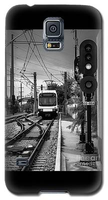 Electric Commuter Train In Bw Galaxy S5 Case