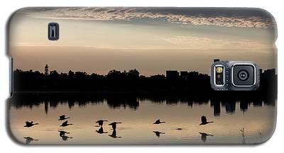 First Flight At Sunrise Galaxy S5 Case