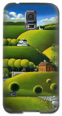 Foothills Of The Berkshires Galaxy S5 Case