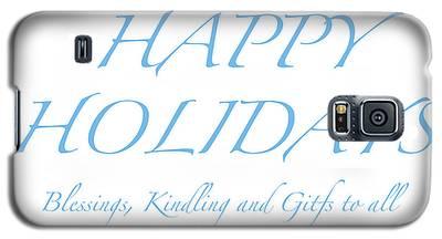 Happy Holidays - Day 2 Galaxy S5 Case