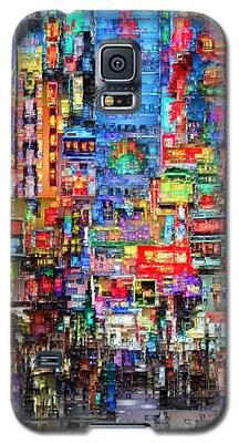 Hong Kong City Nightlife Galaxy S5 Case