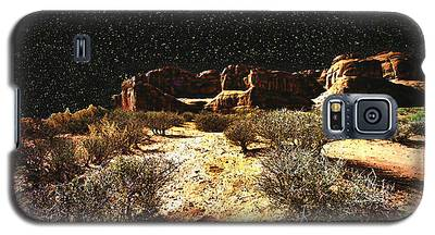 Night In The Arches Galaxy S5 Case