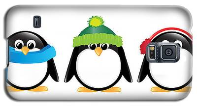 Penguin Galaxy S5 Cases