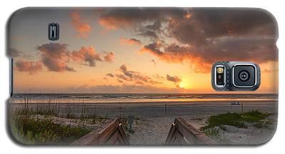 Ponce De Leon Inlet Beach Path Galaxy S5 Case