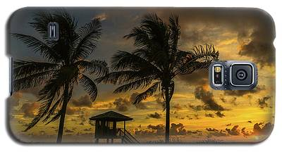 Two Palm Sunrise Delray Beach Florida Galaxy S5 Case