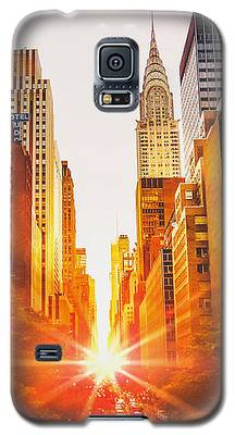 Chrysler Building Galaxy S5 Cases