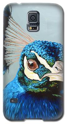 Peacock Galaxy S5 Cases