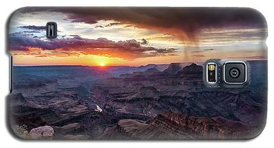 Grand Canyon Monsoon Sunset Galaxy S5 Case