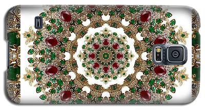 Ruby And Emerald Kaleidoscope Galaxy S5 Case
