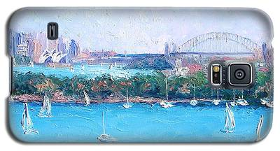 Sydney Harbour And The Opera House By Jan Matson Galaxy S5 Case