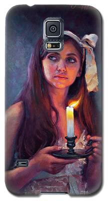 A Light Unto My Path Galaxy S5 Case