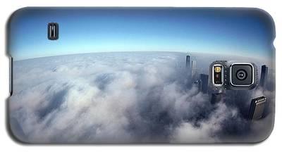 Chicago Skyline Galaxy S5 Cases
