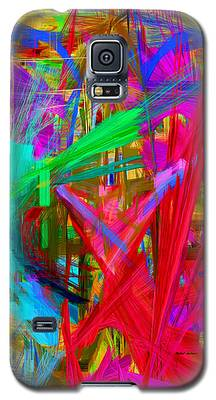 Abstract 9028 Galaxy S5 Case