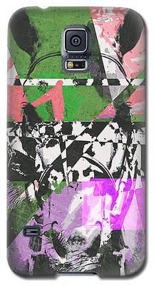 Abstract Horse Galaxy S5 Case