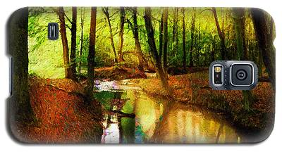 Abstract Landscape 0747 Galaxy S5 Case