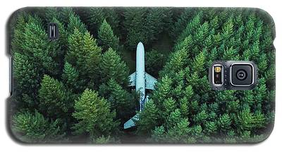 Airplane In Forest Galaxy S5 Case