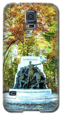Alabama Monument At Gettysburg Galaxy S5 Case