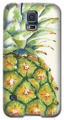 Pineapple Galaxy S5 Cases