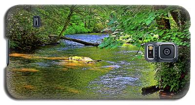 Along The Cullasaja River Galaxy S5 Case