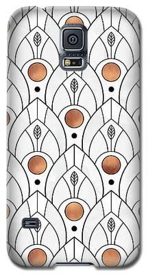 Peacock Galaxy S5 Cases