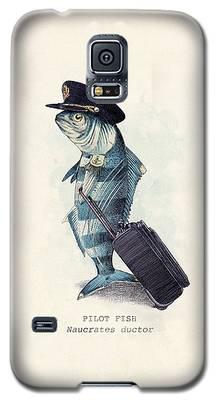 Fish Galaxy S5 Cases