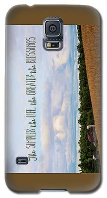 The Simpler Life Galaxy S5 Case