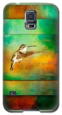 Hummingbird Hover Galaxy S5 Case