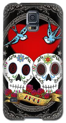 Folk Art Digital Art Galaxy S5 Cases