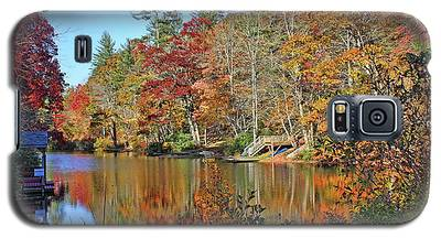 Autumn At The Lake 2 Galaxy S5 Case