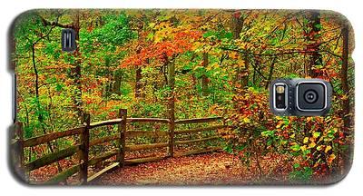 Autumn Bend - Allaire State Park Galaxy S5 Case