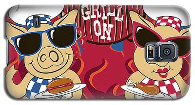 Barbecue Pigs Galaxy S5 Case
