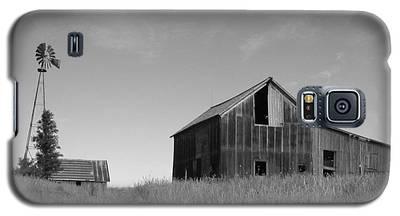 Barn And Windmill II Galaxy S5 Case