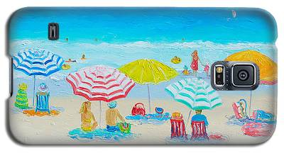 Beach Painting - Catching The Breeze Galaxy S5 Case