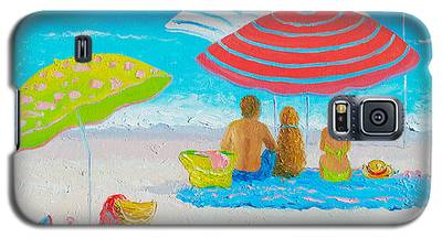 Beach Painting - Endless Summer Days Galaxy S5 Case