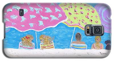 Beach Painting - Lazy Summer Days Galaxy S5 Case