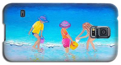 Beach Painting - Water Play  Galaxy S5 Case