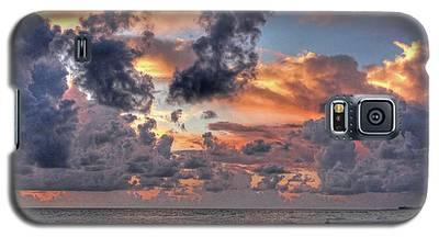 Beach Walk - Florida Seascape Galaxy S5 Case