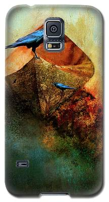 Beached Crow Galaxy S5 Case