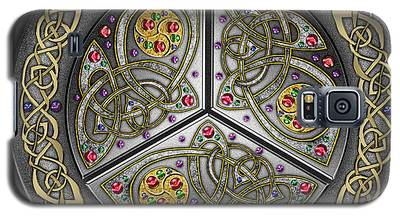 Bejeweled Celtic Shield Galaxy S5 Case