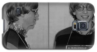 Bill Gates Mug Shot Horizontal Black And White Galaxy S5 Case