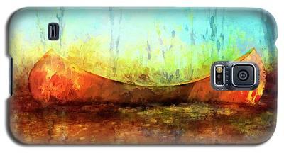 Birch Bark Canoe Galaxy S5 Case