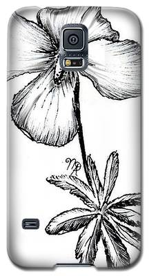 Birdsfoot Violet Galaxy S5 Case