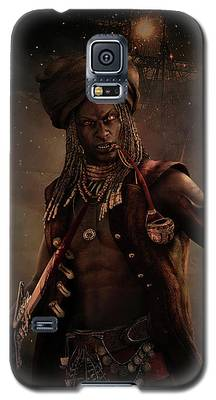 Black Caesar Pirate Galaxy S5 Case